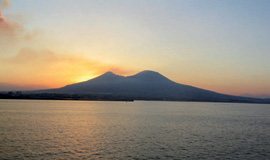 Il Vesuvio … prima e dopo